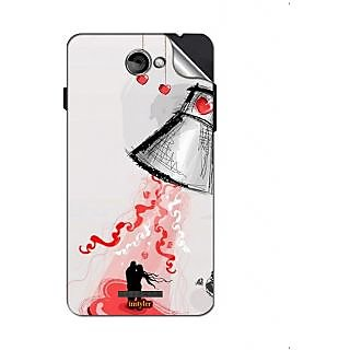 Instyler Mobile Skin Sticker For Coolpad T1 MSCOOLPADT1DS10115