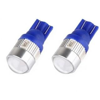 Bikers World Super Bright Blue 6 SMD Led Projector Lens Parking Bulb Licience Plate Bulb For Maruti Suzuki Baleno