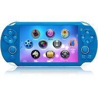 Multi Color Handheld PSP Gaming Console For KIDS - 3.0inch Screen - Blue