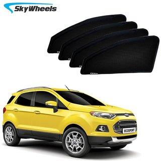 SkyWheels UV Car Sun Shades for Ford Ecosport