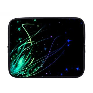 meSleep Abstract Laptop Sleeve with Webbing Handles