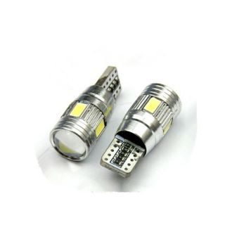 Bikers World White 6 Smd Licence Plate Number Bulb Lights For Mahindra Thar