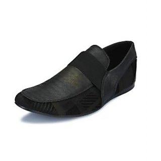 Enzo Men Black Stylish Loafers