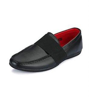 Enzo Men's Black Loafers