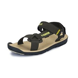 Fighter Men's Olive Stylish Sandals