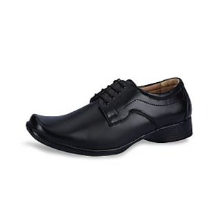 Force Hill Men's Black Formal Shoes - Option 2
