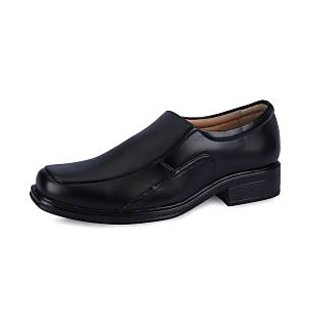 Force Hill Men's Black Formal Shoes - Option 4