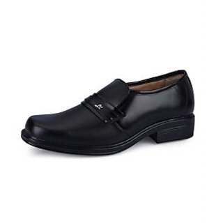 Force Hill Men's Black Formal Shoes - Option 8