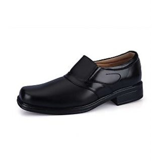 Force Hill Men's Black Formal Shoes - Option 9