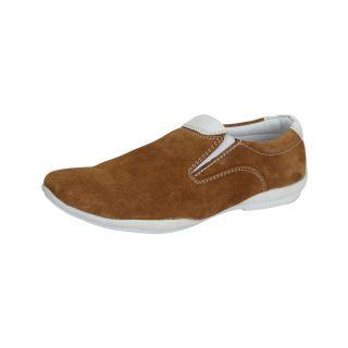 Loochi Men's Brown Loafers