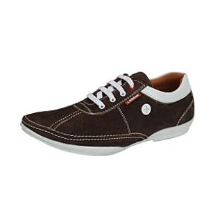 Loochi Men's Brown Casual Stylish Shoes