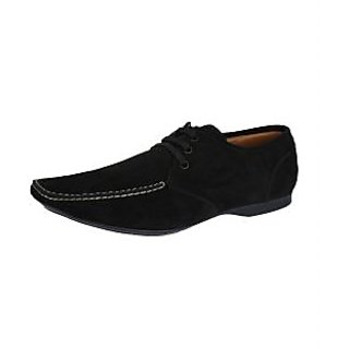Lues Alberto Men's Black Casual Stylish Shoes