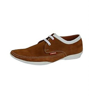 Loochi Men's Tan Casual Stylish Shoes