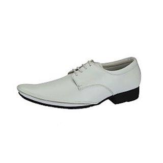 Lues Club Men's White Casual Shoes
