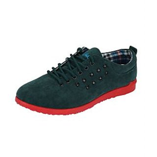 Fashion Men's Green Casual Shoes