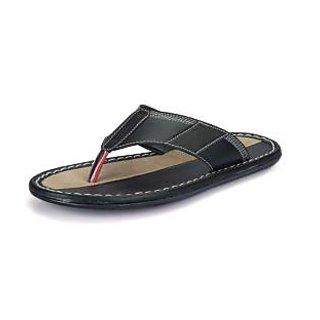 Lee Comfort Men Black Stylish Sandals