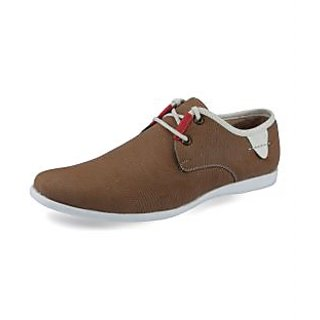 Lush Men's Beige Casual Stylish Shoes