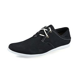 Lush Men's Black Casual Shoes
