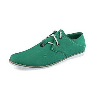 Lush Men's Green Casual Shoes