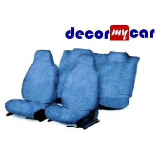 DecorMyCar Blue PU Leather Car Seat Cover For Maruti Alto