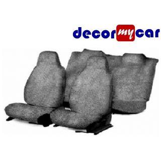 DecorMyCar Grey PU Leather Car Seat Cover For Maruti Alto