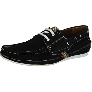 Sharon Men's Black Casual Shoes