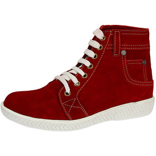 Sharon Men's Red Boots