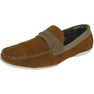 Sharon Men's Tan Loafers