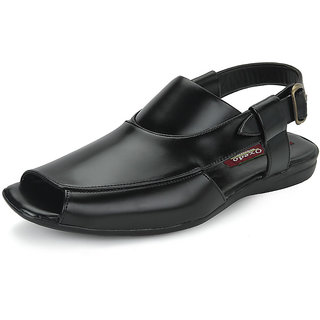 Oxedo Men Black Stylish Sandals - Option 2