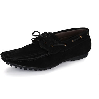 Red Cherry Men's Black Casual Shoes