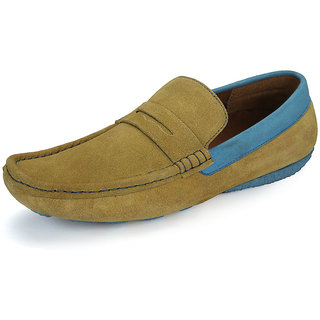 Sharon Men's Yellow Loafers