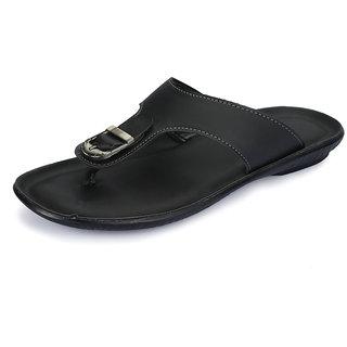 Vago Men Black Stylish Sandals