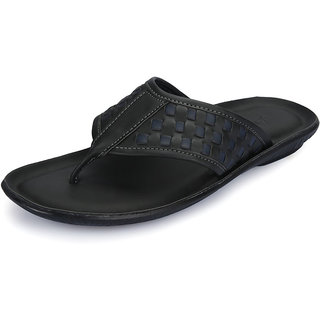 Vago Men Black Stylish Sandals - Option 1