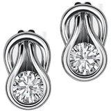Diamond Earring In Yellow Gold - San04