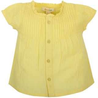 Apricot Kids Yellow Top For Baby Girls