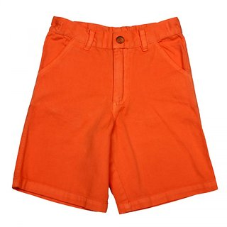 Apricot Kids Orange Shorts For Boys