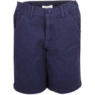 Apricot Kids Navy Blue Shorts For Boys