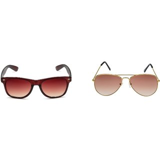 Rico Sordi Brown Sunglass (Set of 2) RSSG003