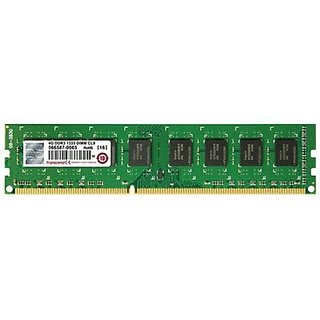 Transcend DDR3-1333 DDR3 4 GB PC DRAM