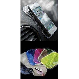 Anti Non Slip Car Dashboard Magic Mat Pad Multipurpose Mobile Holder Coins.