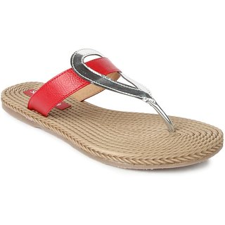 Liberty WomenS Red Casual Slippers