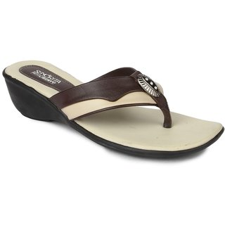 Liberty WomenS Brown Casual Slippers