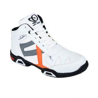 Hillsvog White sports men shoes-5013