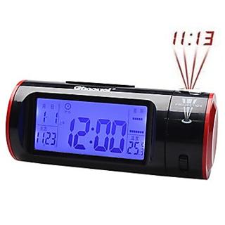 Easy To Use Manage Digital Clock Stylish Clock Digital Projection Clock By Flintstop