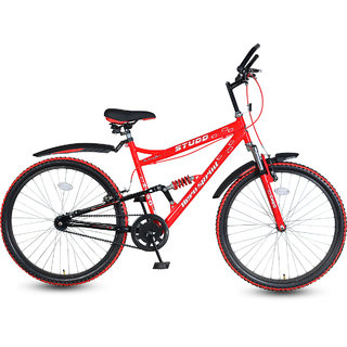 Hero Studd 26T Single Speed Sprint Bike - Red
