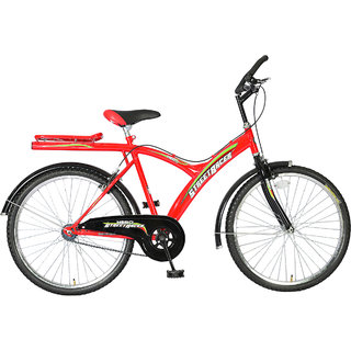 Hero Street Racer 24T Single Speed Mountain Bike - Red  Black
