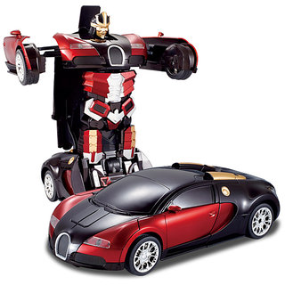 Smart Stylish Transformers Remote Control Car By Flintstop