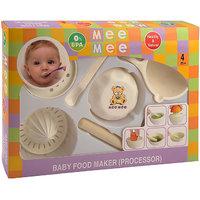Mee Mee Baby Food Maker (Processor)-White