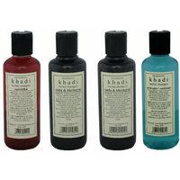 Combo of Complete Hair Care  Damage Repair Herbal Shampoos - Pack of 4 - Khadi