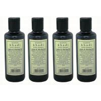 Hair Shampoo - Herbal - Amla  Bhringraj Shampoo - Combo Pack of 4 - By Khadi